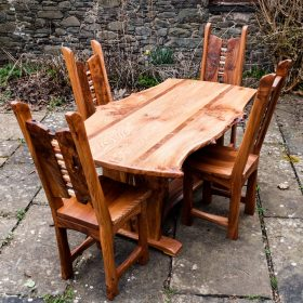 Elm Mosaic Dining Table