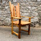 Elm Corset Carver Chair